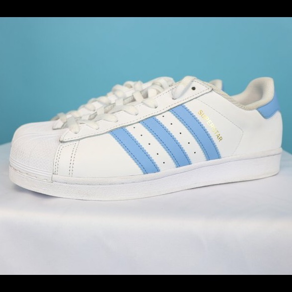 Le adidas superstar piccola striscia blu poshmark originali.